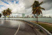 Miami skyline — Stockfoto