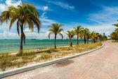 Key Biscayne Beach — Stock Photo