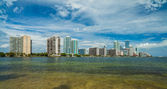 Miami skyline — Stockfoto