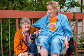 Elderly women — Stock Photo