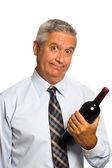 Wine man — Stock Photo