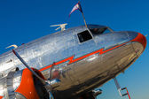 Vintage vliegtuig — Stockfoto