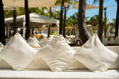 Resort lounging — Stockfoto