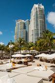 South Beach resort — Stock Photo