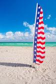 Miami Beach Flag — Stock Photo