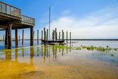 Gulf Coast Pier — Foto Stock