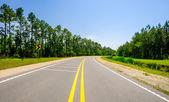 Carretera rural — Foto de Stock