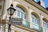 Chartres vägskylt — Stockfoto