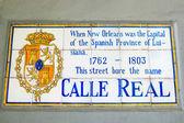 Calle 実質の印 — ストック写真