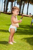 女婴 — 图库照片