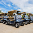 Golf carts — Stock Photo #47235547