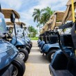 Golf carts — Stock Photo #47235553
