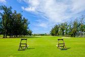 Beautiful Golf Course — Stock Photo
