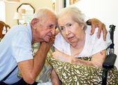 Femme âgée — Photo