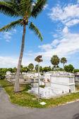 Cementerio de cayo hueso — Foto de Stock