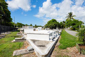 Key West Cemetery — Stock Photo
