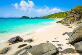 Bellissima spiaggia caraibica — Foto Stock