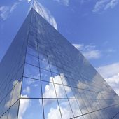 Glass skyscraper — Stock Photo