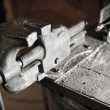 Iron Vice in Workshop — Stock Photo #38743457