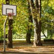 Stock Photo: Basketball Field