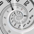Stock Photo: Spinning Clock