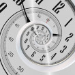 Stockfoto: Spinning Clock