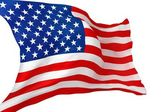 United States Flag Isolated — Stock Photo