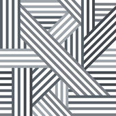 Abstract seamless pattern. Grey intersecting lines. — Stock Vector