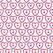 Seamless pattern. Valentine's Day. Wedding. Vector. — Stock Vector