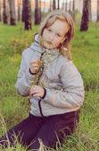Teenager girl — Stock Photo