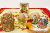 Easter set — Stock Photo