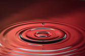 A drop circles — Foto de Stock