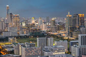 Modern Commercial City (Bangkok) — Stock Photo