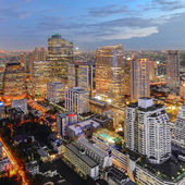 Modern business center ,Bangkok city — Stock Photo