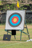One archery target — Stock Photo