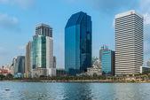 タイ、バンコクの近代的な超高層ビル. — ストック写真