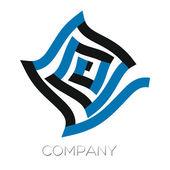 Logotype real estate — Stock Vector