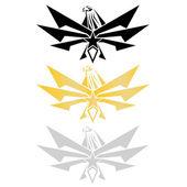 Aquila logotipo — Vettoriale Stock
