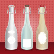 Stock Vector: Bottles