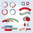 Info graphics elements — Stock Vector