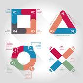 Infografika prvky návrhu — Stock vektor