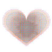 Love hearts — Stockfoto