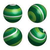 Abstract vector balls — Stock Vector