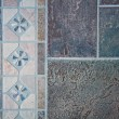 Mosaic of floor tiles — Stock Photo
