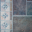 Stock Photo: Mosaic of floor tiles