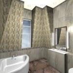 Modern bathroom — Stock Photo #39329489