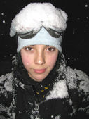 Skier portrait — Stock Photo