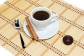 Filiżankę kawy espresso — Zdjęcie stockowe