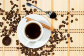 Cup of espresso coffee — Stockfoto