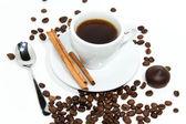 Tazza di caffè espresso — Foto Stock
